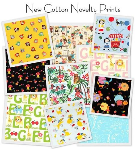 New Cotton Novelty Prints