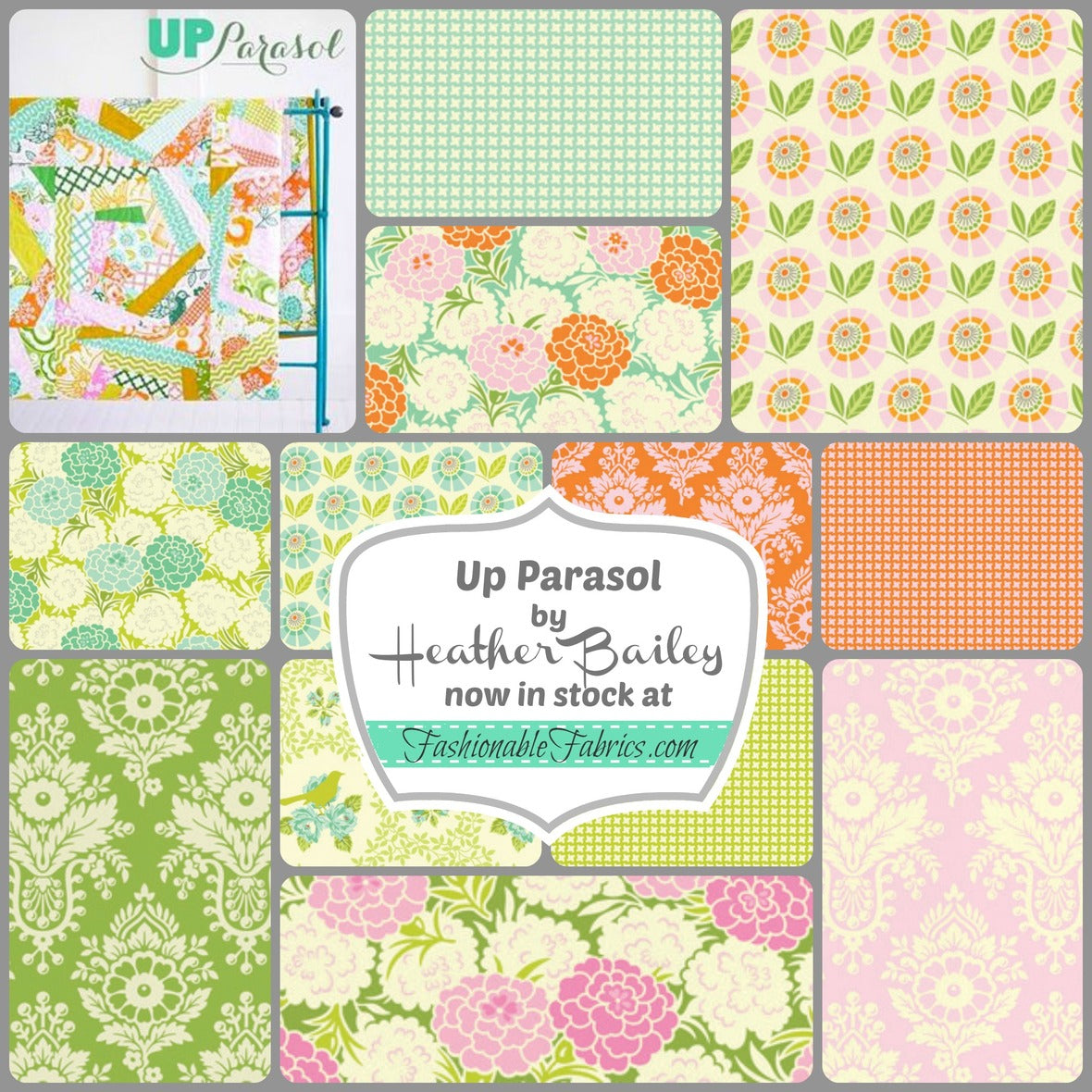 Up Parasol by Heather Bailey for FreeSpirit Fabrics