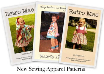 Retro Mae Sewing Patterns