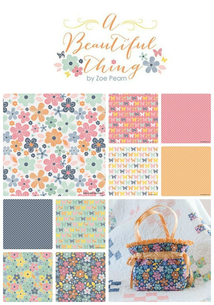 A Beautiful Thing Collection by Zoe Pearn for Riley Blake