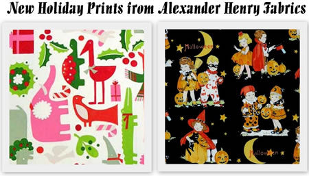 Holiday Prints from Alexander Henry Fabrics