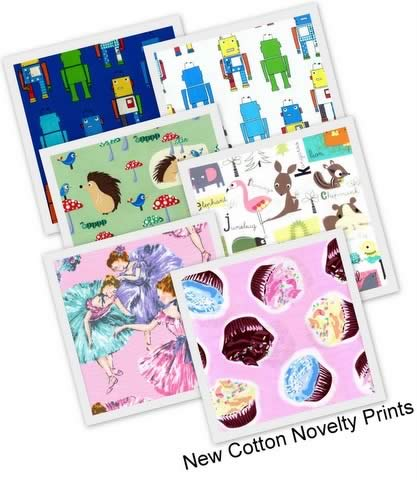Cotton Novelty Prints for boys and girls