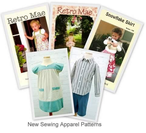 New Apparel Sewing Patterns