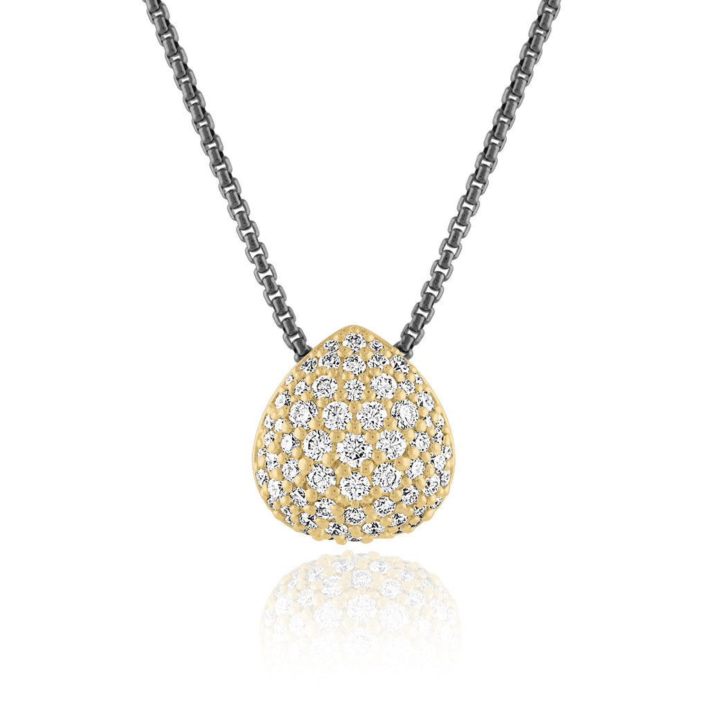 So Emotional Pavé Diamond Pendant