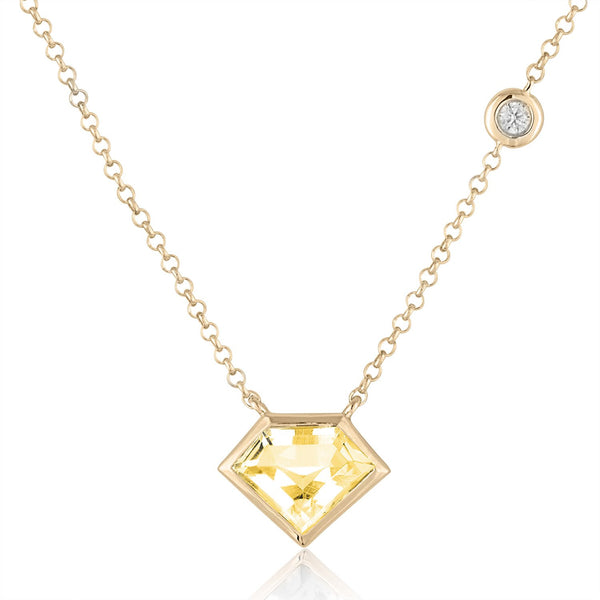 Super Mini Necklace with Flying Diamond