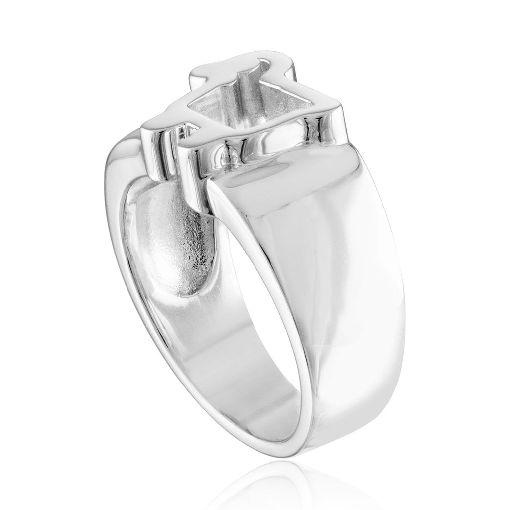 Sterling Silver Chubby Boyfriend Ring