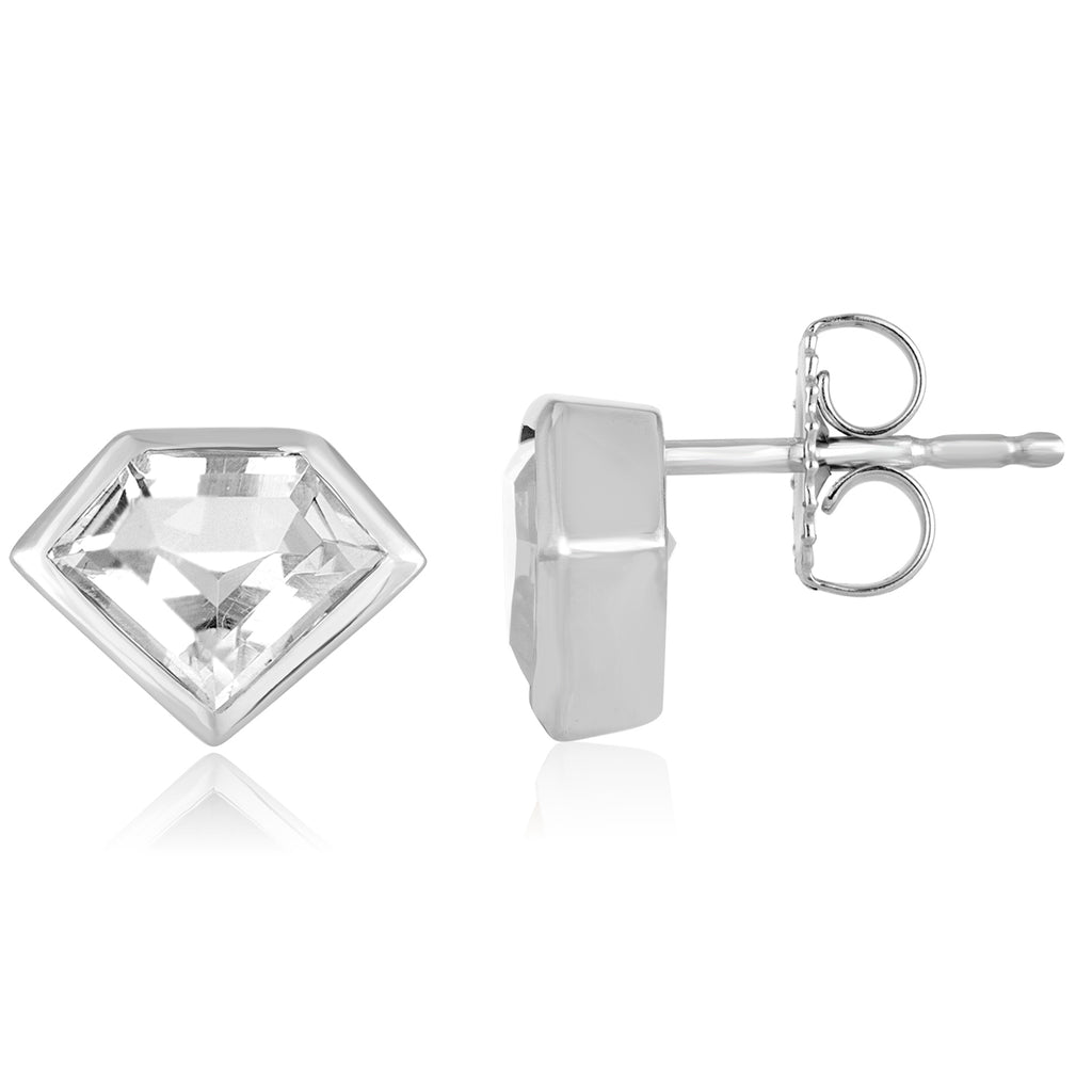 Sterling Silver Mini Super Stud Earring