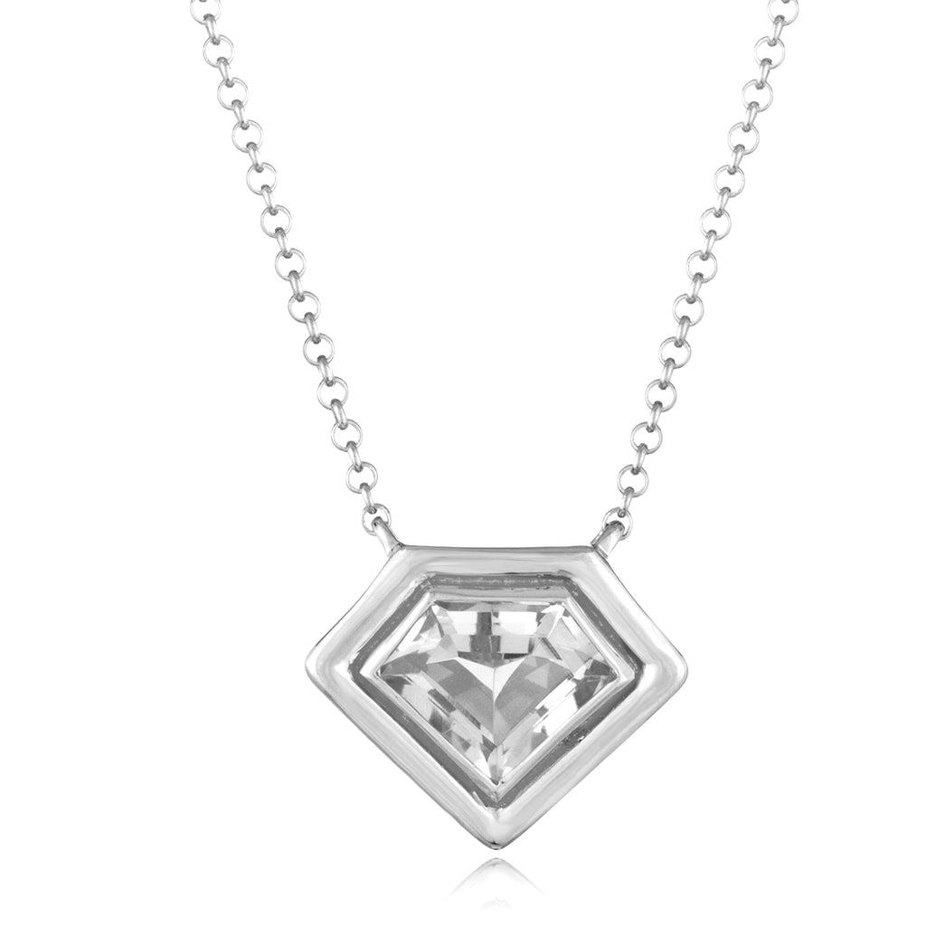 *Sterling Silver Super Polished Pendant