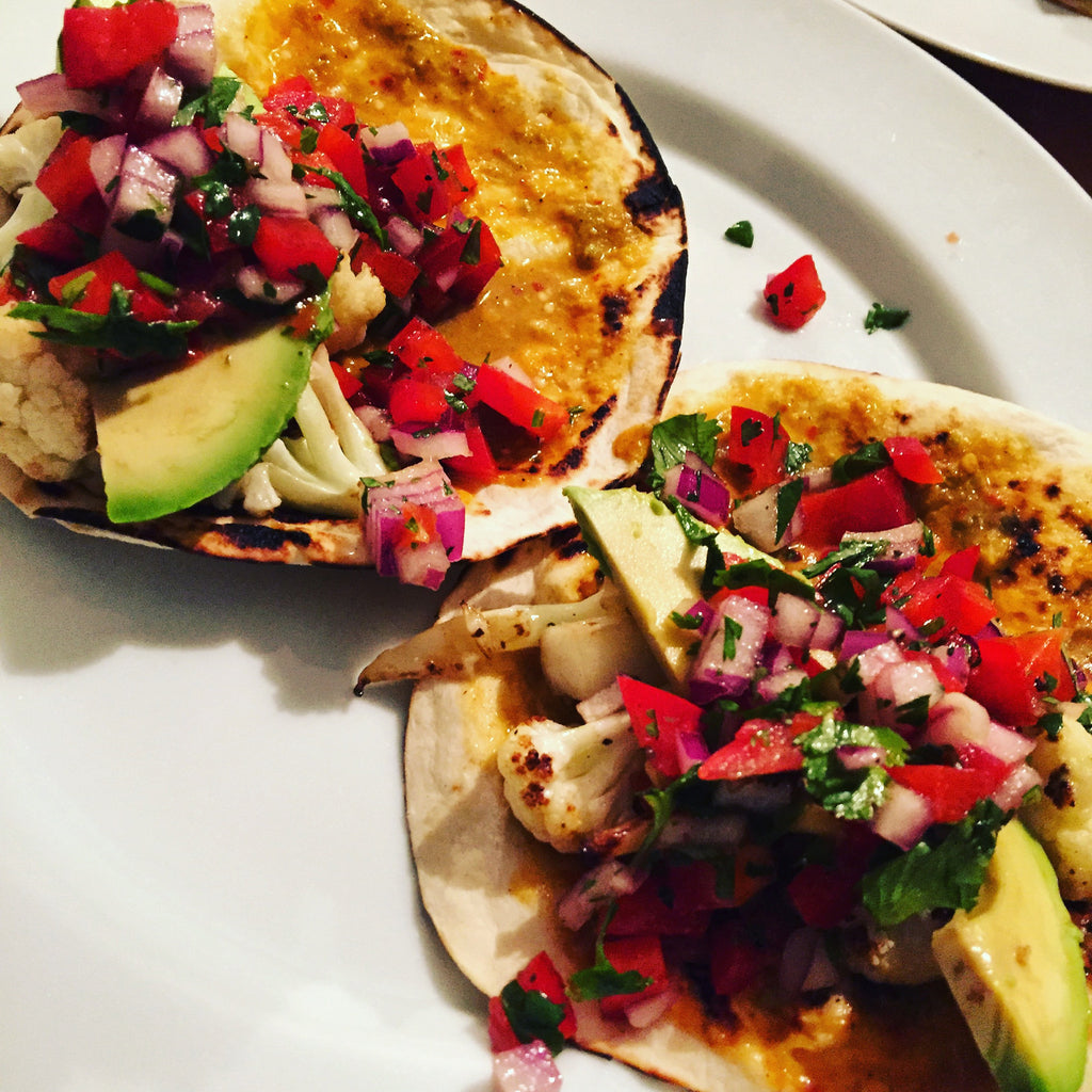 Cauliflower Tacos, Featured Recipe from Zander Ault
