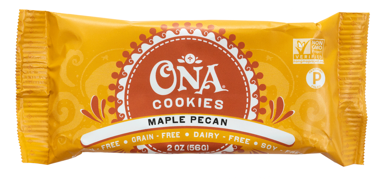 Ona Maple Pecan Cookies