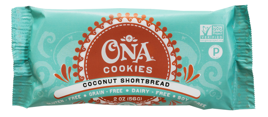 Ona Coconut Shortbread Cookies (12-Pack)