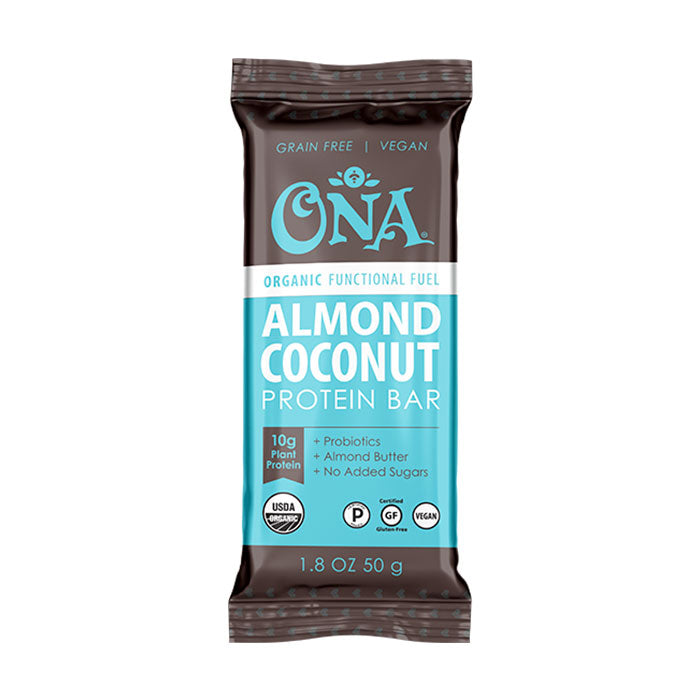 Almond Coconut Functional Fuel Plant Protein Bar
