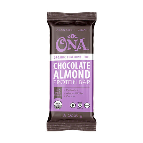 Chocolate Almond Functional Fuel Plant Protein Bar