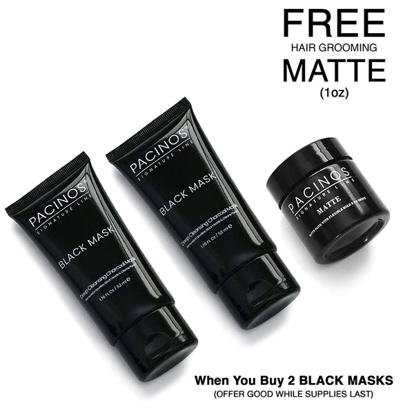 Two Facial Mask Peel with 1oz Hair Matte