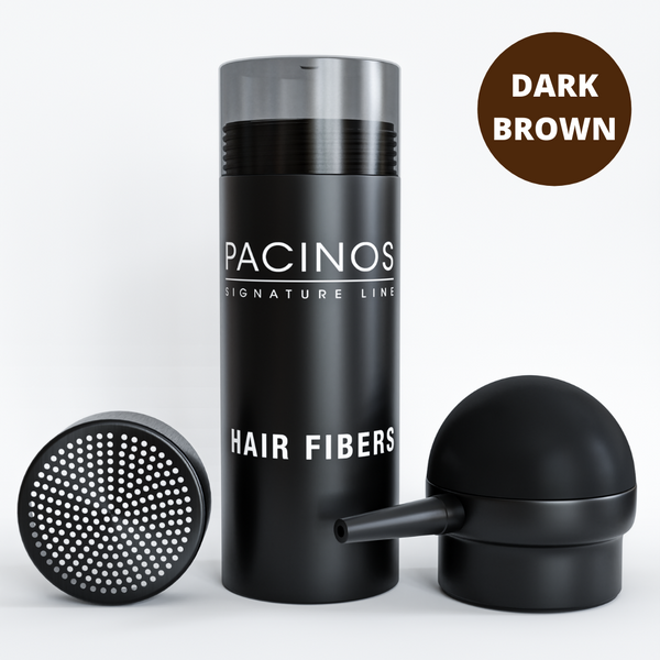 Pacinos Hair Fibers Kit - Dark Brown