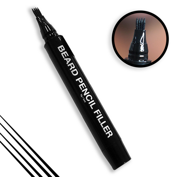 Pacinos Beard Pencil Filler ONLY - BLACK