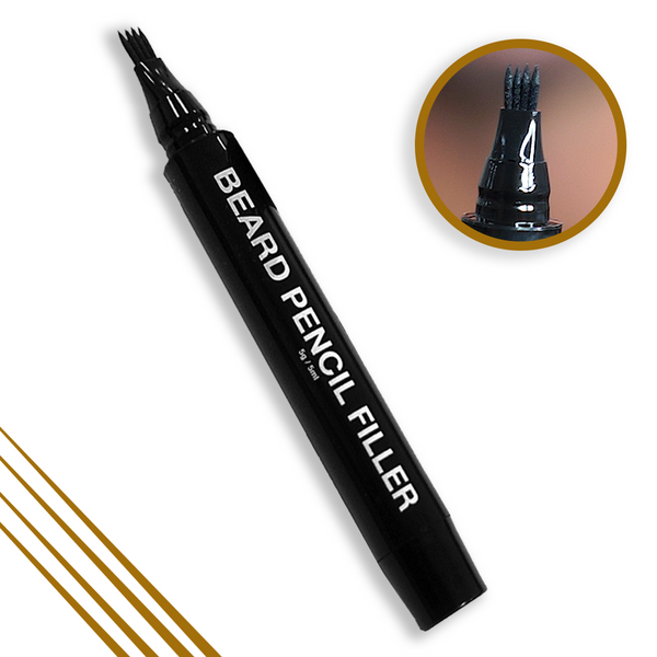 Pacinos Beard Pencil Filler ONLY - LIGHT BROWN