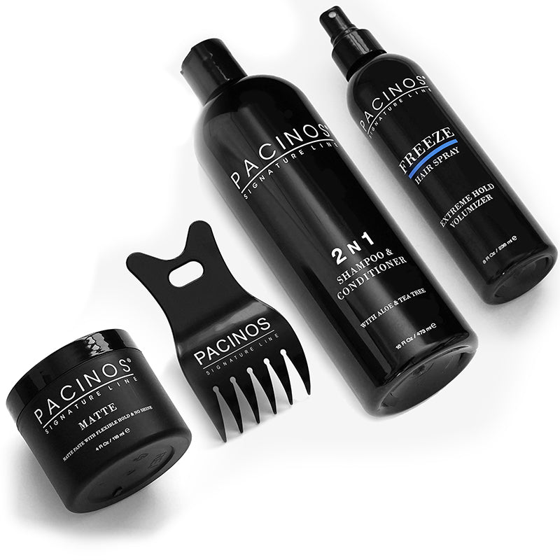 Matte + Texturizing Comb + Shampoo + Freeze Bundle