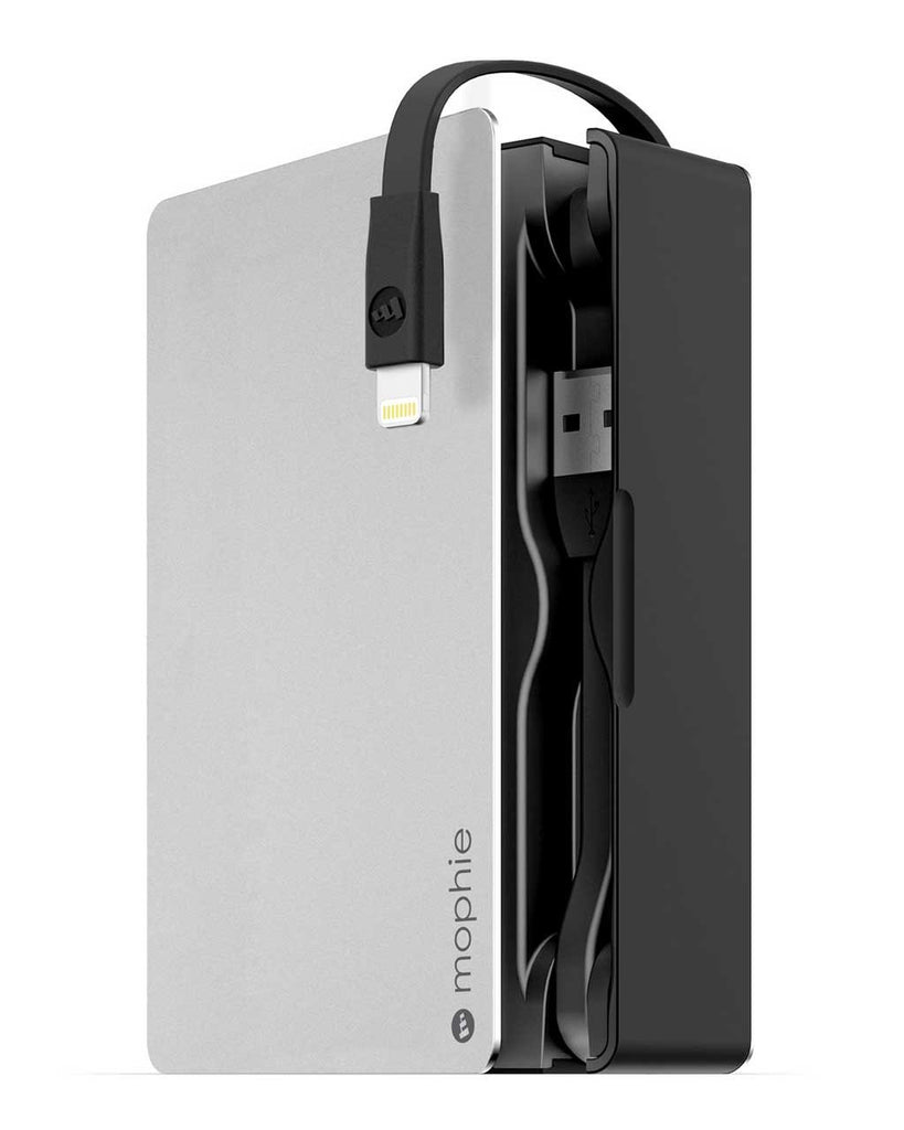 mophie Powerstation Plus 8X (Lightning Cable + USB Port) - 12000 mAh