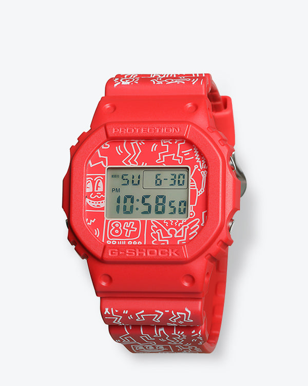Keith Haring x G-Shock DW5600KEITH-4