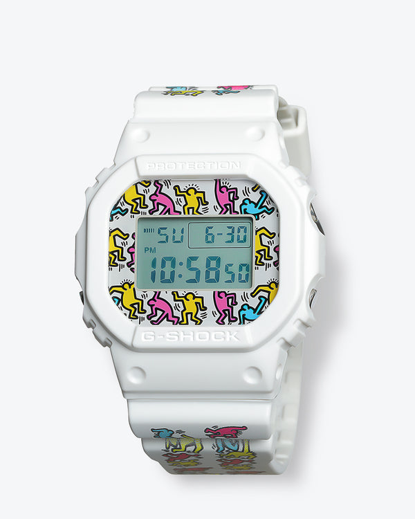 Keith Haring x G-Shock DW5600KEITH-7