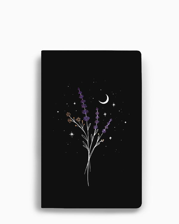 Denik Lay Flat Blank Notebook - Lavender
