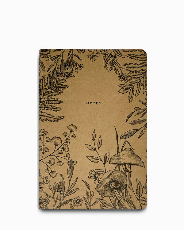 Denik Blank Softcover Composition Notebook - Science