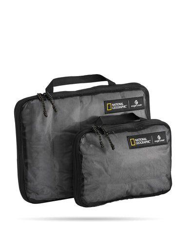 Eagle Creek National Geographic Collection - Pack-It Storage Compression Cube Set S/M