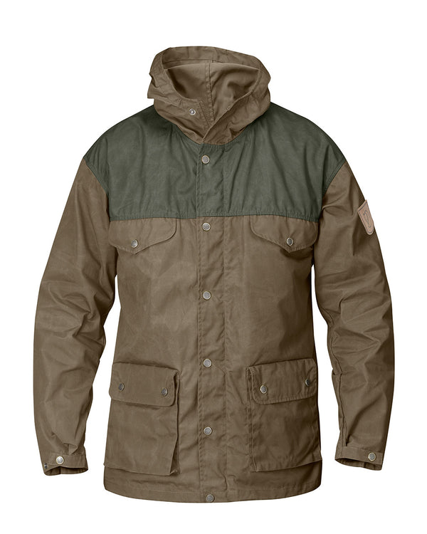 Fjällräven Mens Greenland Jacket Taupe/Mountain Grey