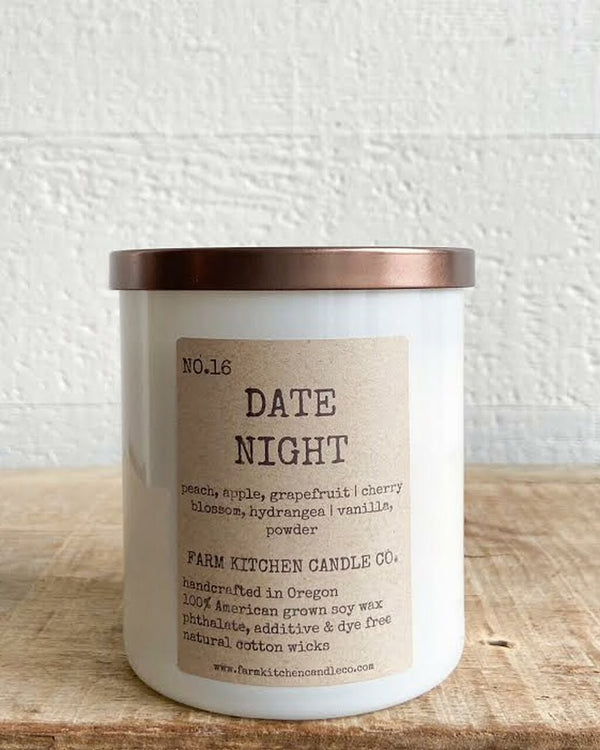 Farm Kitchen Date Night Soy Candle