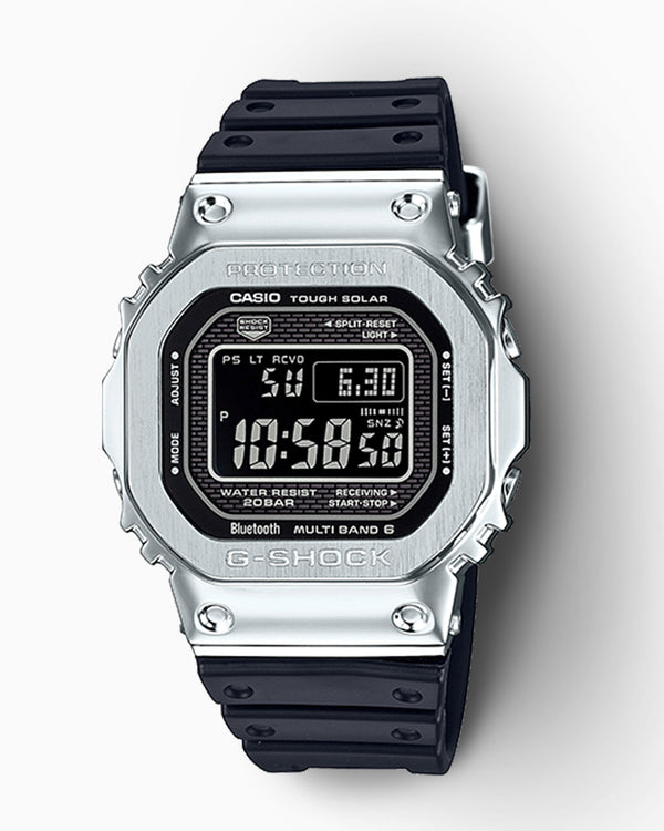 G-Shock Digital Bluetooth Watch - GMW-B5000-1CR - Black/Silver