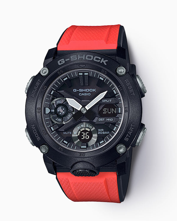 G-Shock Limited Edition GA-2000E-4 with Extra Straps