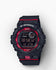 G-Shock G-Squad  Step Tracker Watch - GBD800-1 -Black-RED