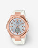 G-Shock Baby-G Watch - G-MS MSGS200G-7A - Rose Gold/White