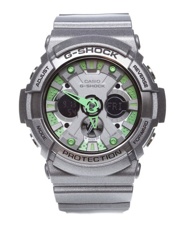 G-Shock Analog-Digital Watch - GA-200SH-8A - Silver