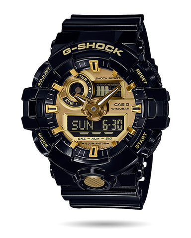 G-Shock Mens Watch - Gold - GA710GB-1ACR