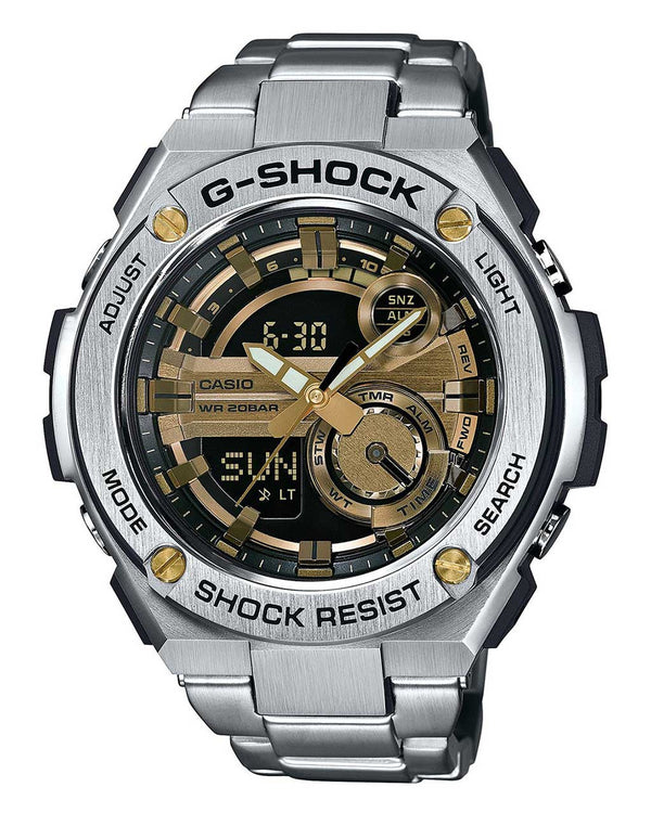 G-Shock G-STEEL Analog Digital Watch - GST-210D-9A