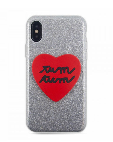 Silvia Tosi 3D Soft Case for iPhone X - Heart