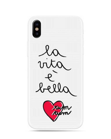 Silvia Tosi Embroidered Hybrid Hard Case for iPhone X - Vita