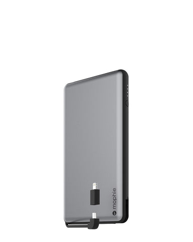 mophie Powerstation Plus XL with Dual Lightning and Micro USB Cable