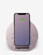 Native Union Dock Wireless Charger for Qi Compatible Devices - Terrazzo Edition