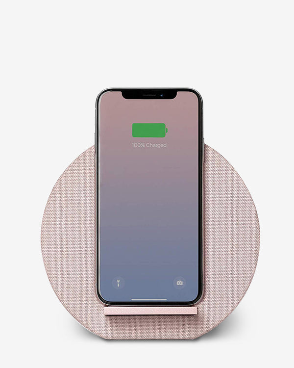 Native Union Dock Wireless Charger for iPhone and Qi Compatible Devices