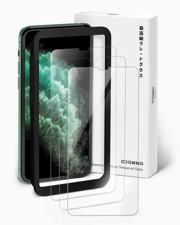 OCOMMO 2D Tempered Screen Protectors for iPhone 11 Pro Max