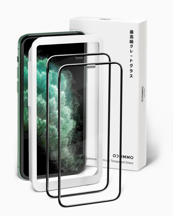 OCOMMO 3D Asahi Tempered Screen Protectors for iPhone 11
