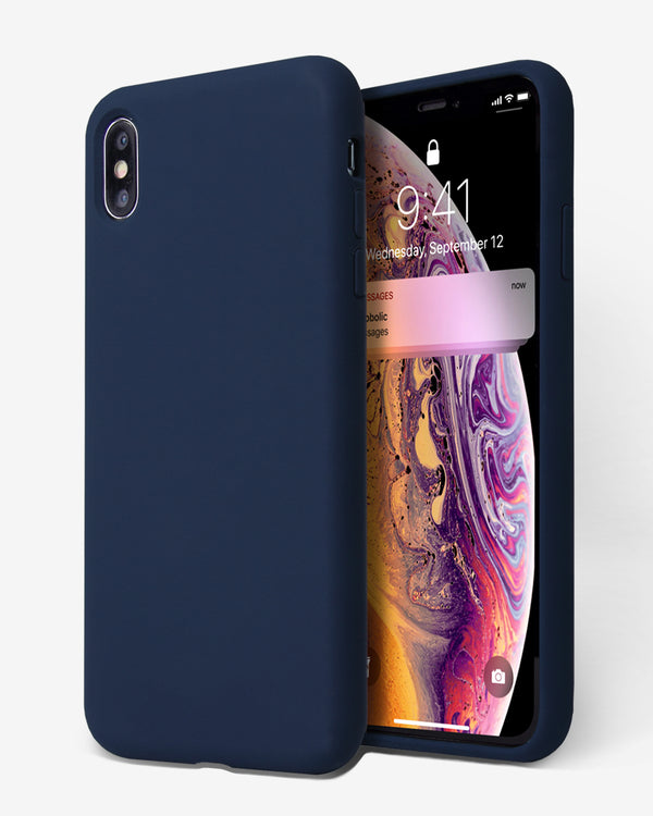 OCOMMO Liquid Silicone Case for iPhone XS Max