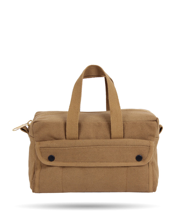 Rothco G.I. Type Brass Zipper Mechanics Tool Bag - Coyote Brown