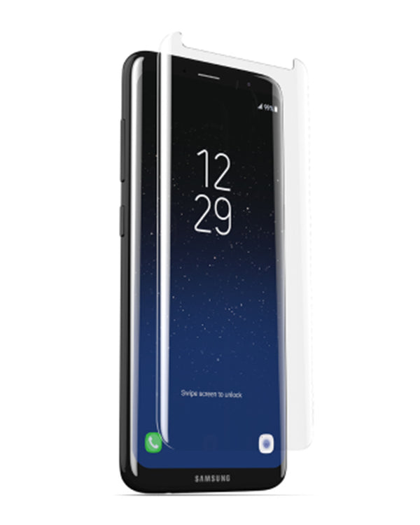 ZAGG Sapphire Defense Curve Screen Protector - Galaxy S8 Plus