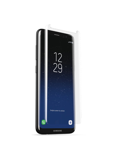 ZAGG Sapphire Defense Curve Screen Protector - Galaxy S8