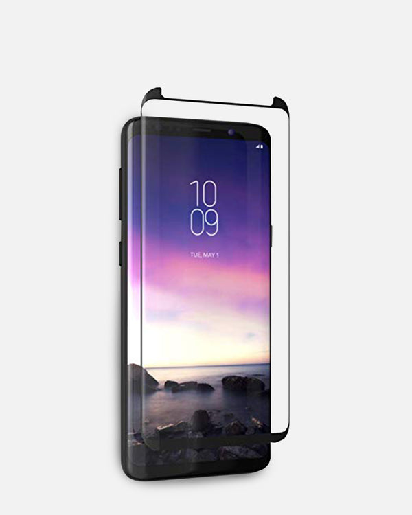 ZAGG InvisibleShield Glass Curved Elite Screen Protector for Samsung Galaxy S9