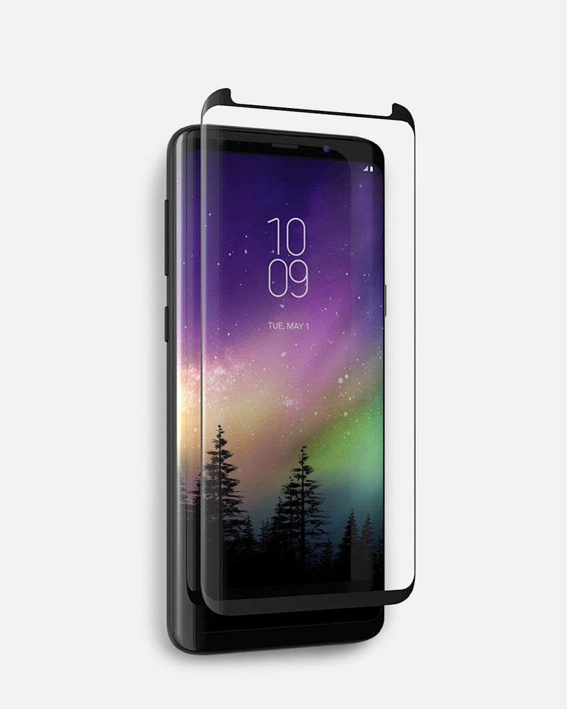 ZAGG InvisibleShield Glass Curve Screen Protector for Samsung Galaxy S9 Plus